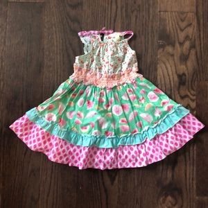 Matilda Jane Size 2 dress. EUC. Only hung to dry.